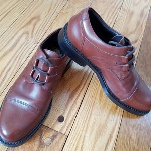 Bacco Bucci Italy Casual Oxford Leather Derby Shoe